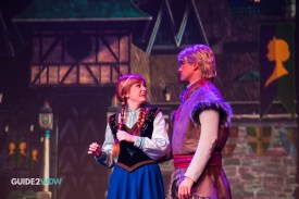 Anna and Kristoff - Frozen Sing Along - Disney's Hollywood Studios Attraction - Disney World
