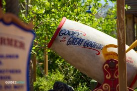 Barnstormer Cannon - Magic Kingdom Roller Coaster