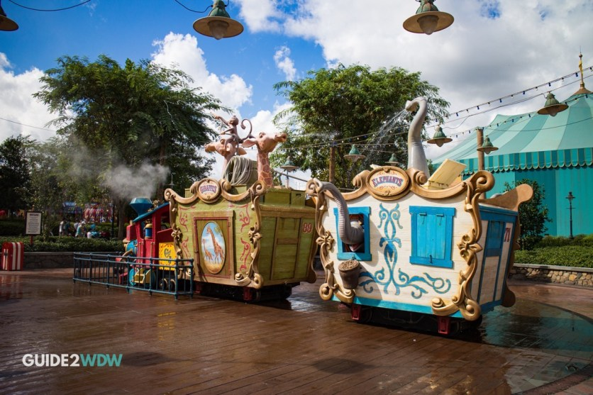 Casey Jr Splash and Soak Magic Kingdom Train