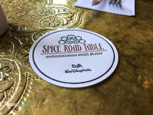 Coaster - Spice Road Table - Epcot Dining - Disney Food
