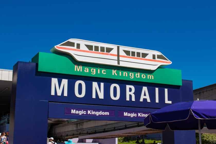 Magic Kingdom Monorail