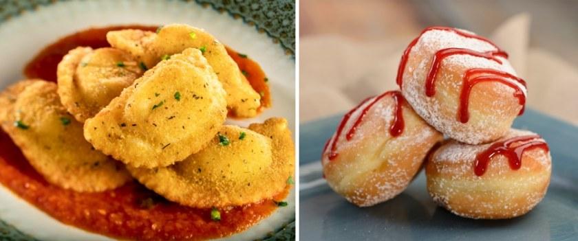 Italy - 2021 Epcot Food & Wine Festival Menus