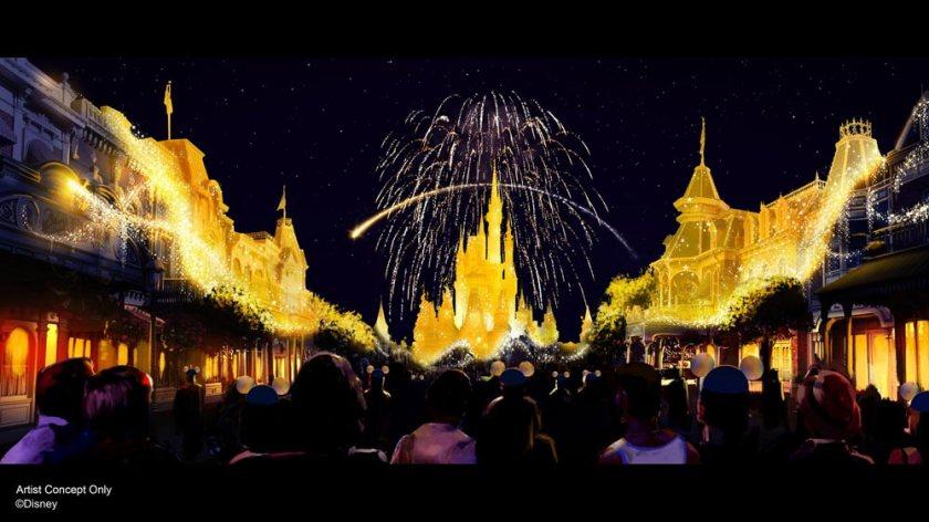 Disney Enchantment - Magic Kingdom - Disney World 50th Anniversary