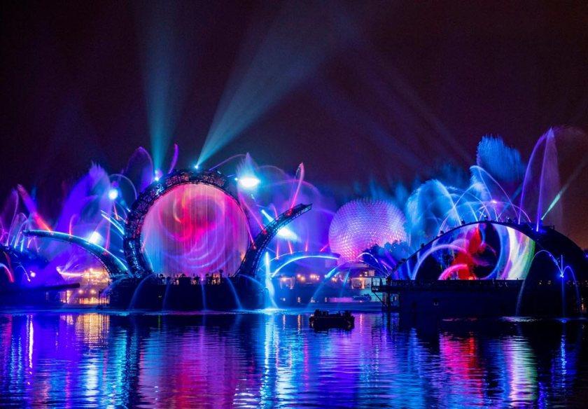 Epcot Harmonious Nighttime Show - Disney World 50th