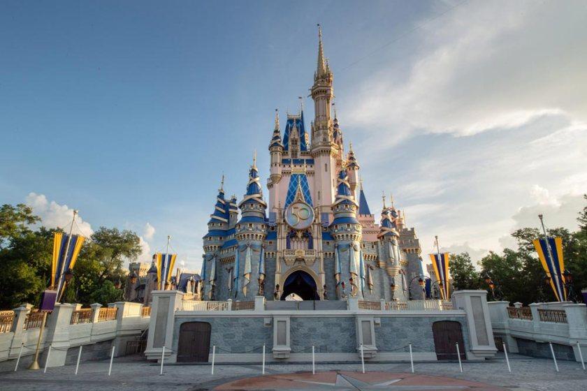 Magic Kingdom - 50th Anniversary Castle Decor