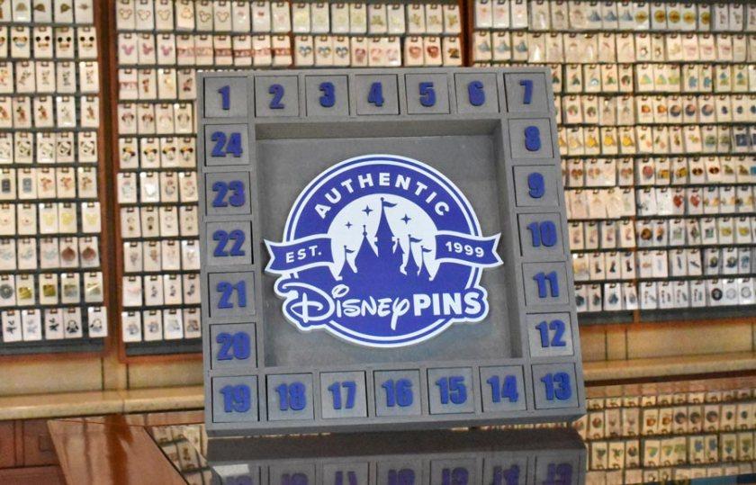 Disney World Mystery Pin Trading Box