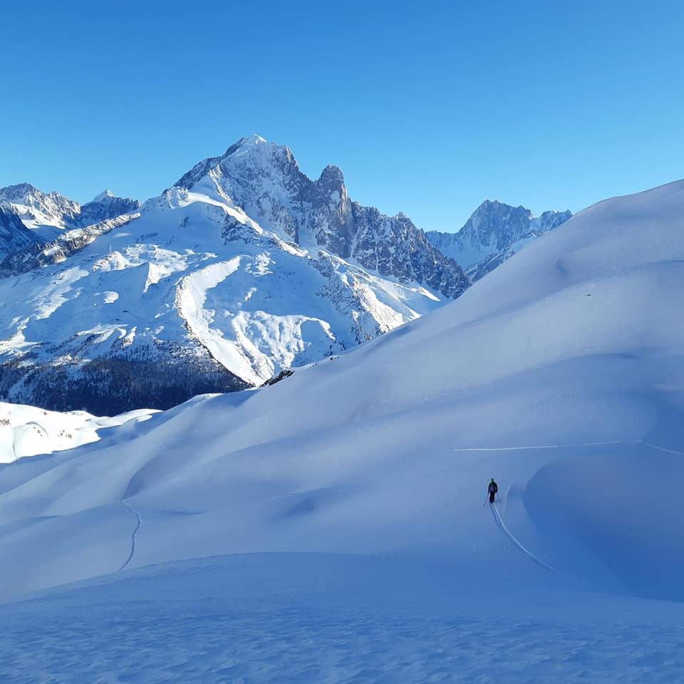 Ski de randonnée dans les Aiguilles Rouges