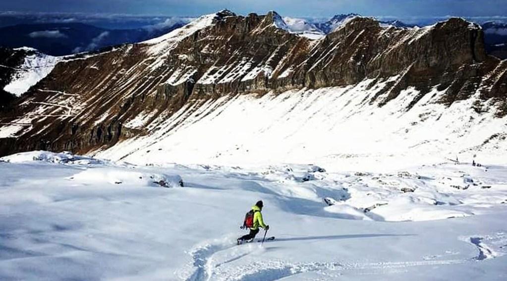 Ski Telemark Flaine