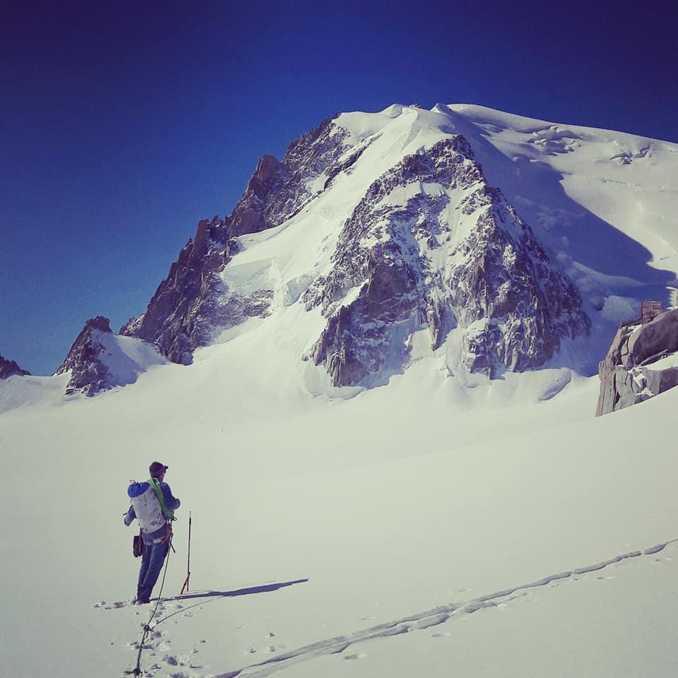 La tour Ronde Massif du mont Blanc