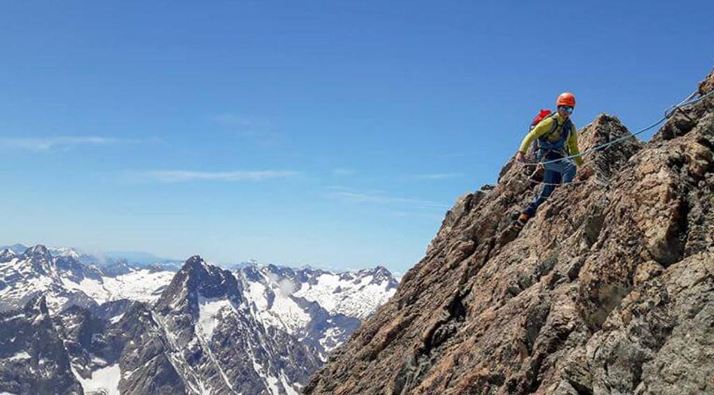 Le Rateau course alpinisme à la Grave