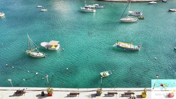 spinola bay bateau st julians malte