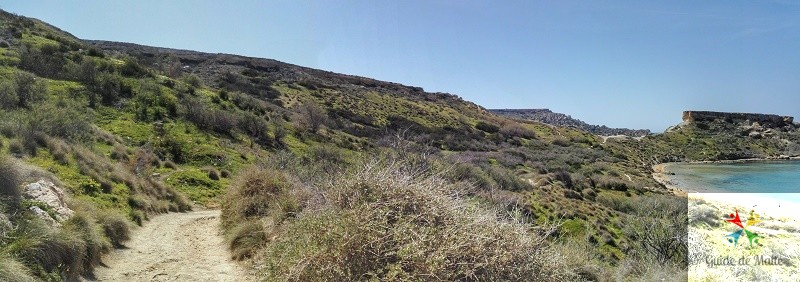 chemin randonnée malte