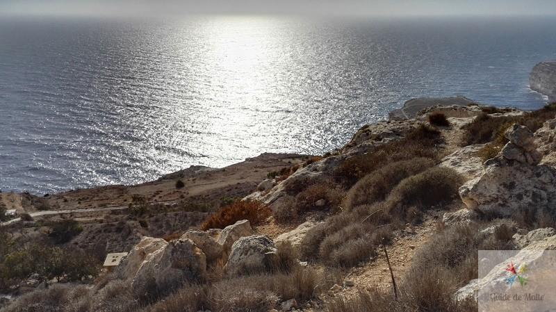 balade dingli cliffs