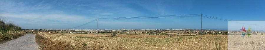 champs a malte randonnée