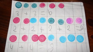 Math Stations: Bingo Addition and Subtraction