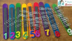 Number Sense with paperclips