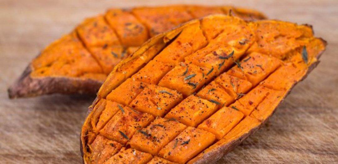 batata de ñame al horno