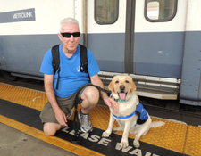 Guide Dog Metrolink Training
