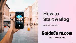 How to Start a Blog for Passive Income