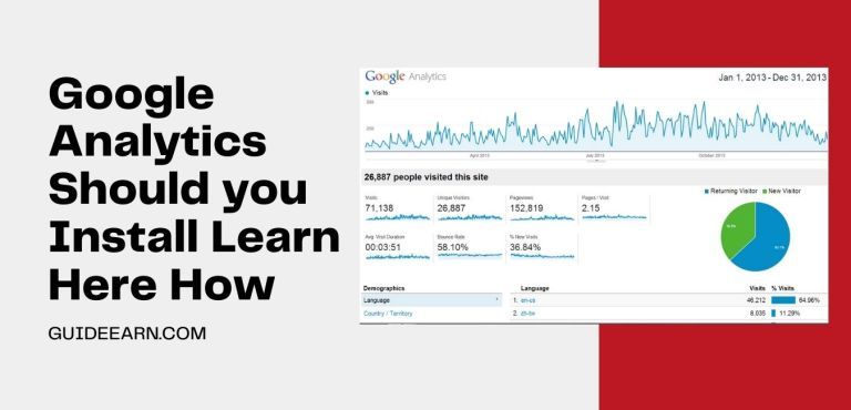 Google Analytics Should you Install Learn Here How 2021