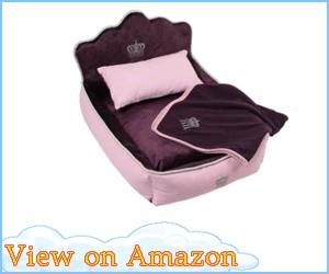 Comfortable Princess Dog Bed