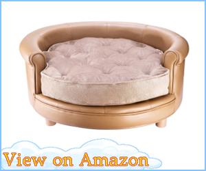 Luxury Leather Dog Bed