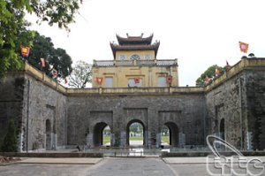 citadelle de Thang Long hanoi