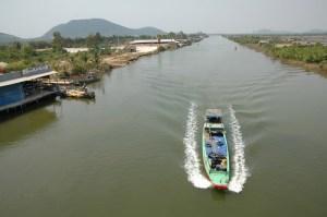 Le canal de Vinh Te
