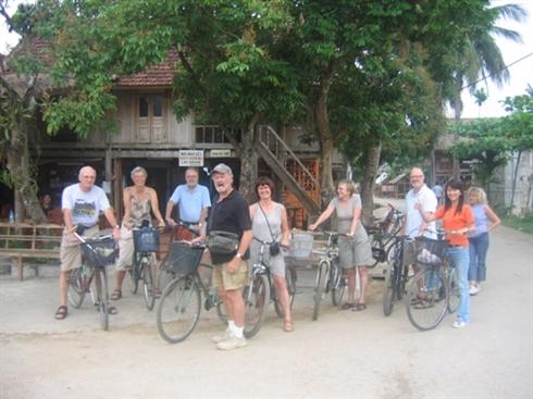 Balade à vélo pour visiter la campagne de Mai Chau