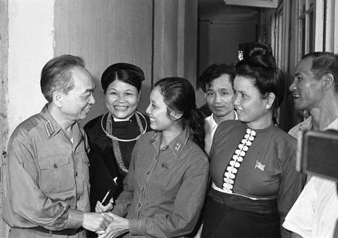 Le général Vo Nguyên Giap