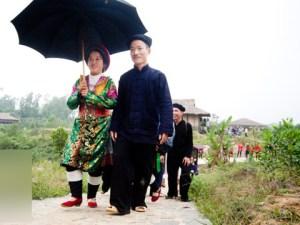 Un mariage des Mong
