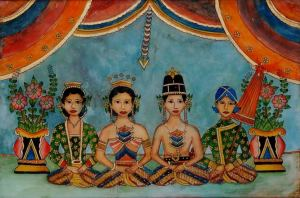 peinture-indonesie