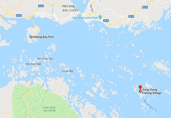 village flottant baie d halong 1