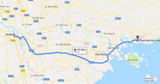 comment aller de hanoi à ha long 1