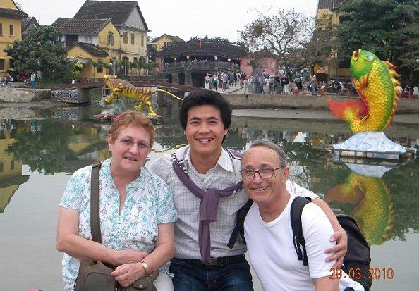 Salutation du guide francophone Vietnam