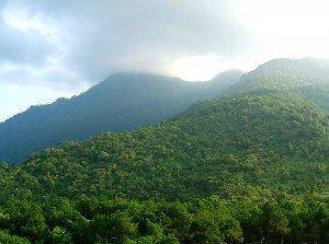 Les montagnes de Ba Vi
