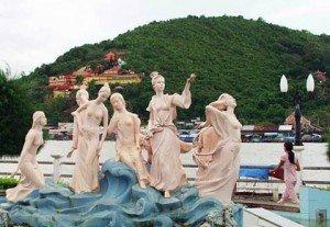 Le site de Ha Tien et Le site de Dong Ho