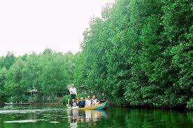 Site touristique de la mangrove de Vàm Sát