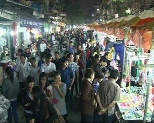 Marche de nuit de Hanoi