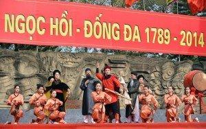 Fête de la victoire Ngoc Hôi Dông Da Hanoi