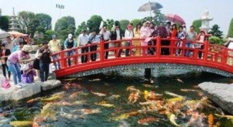 jardin japonais à Hô Chi Minh-Ville
