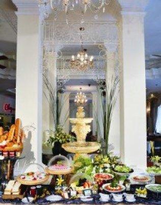 La gastronomie à l'hôtel Grand Saigon