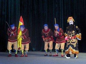 Le hát bội un trait culturel caractéristique du Sud