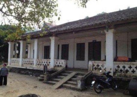 Visite une ancienne résidence à Cao Bang