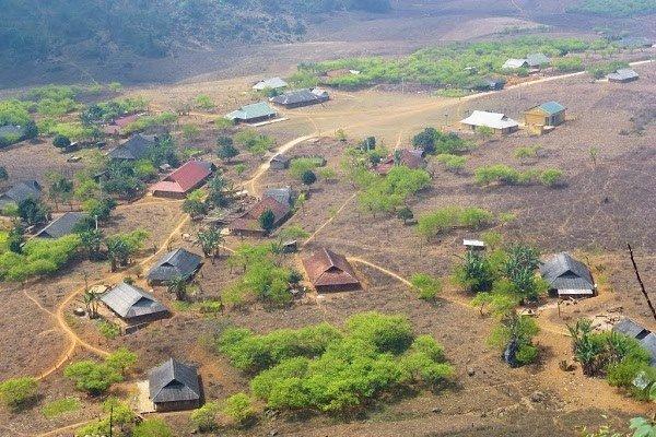 Village de Hang Kia à Mai Chau