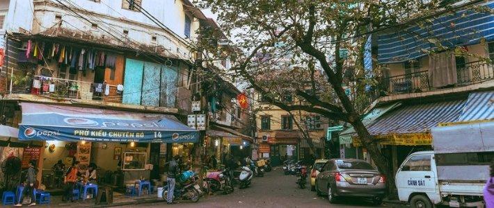 vieux quartier visite Hanoi