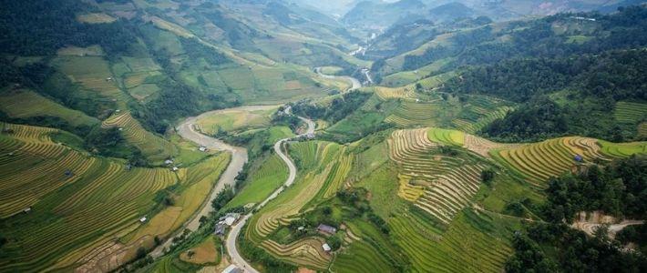 Découverte des rizières en terrasse majestueuses à Sapa