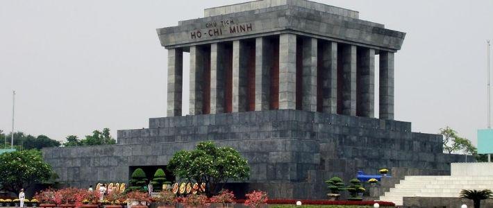 Le mausolée de Ho Chi Minh ville