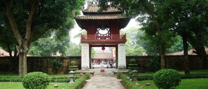 Le temple de la litterature Hanoi