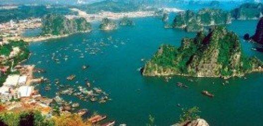 la baie de Ha Long a été reconnue par l'UNESCO patrimoine naturel mondial